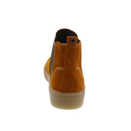 Gabor Chelsea Boot, Dreamvelour (Micro), cayenne/curry (natur),Wechselfußbett, Best-Fitting 53.731.13