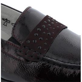 Waldläufer Hanin Mokassin, Taipei Nubuk-Taipei, brunello  burgund, Weite H 348501-302-988