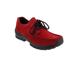 Wolky Fly Winter Halbschuh, Oiled nubuck, dark- red, 0472616-505