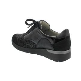 Waldläufer K-Ramona Sneaker, Denver Lacestr. Bronx Tai, schwarz, Weite K 626K02-400-001