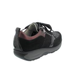 Waldläufer H-Sonja Halbschuh, Dynamic-Sohle, Denver Taipei, schwarz bordo, Weite H 999H03-401-750
