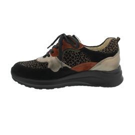 Waldläufer H-Rosa Sneaker, Denver Cat Brizu Marak., schwarz bronce LSschw., Weite H 760002-500-371