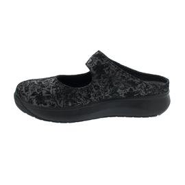 Joya Vanessa Dark Grey Clog, Velour Leather,  Kategorie Emotion 859sli