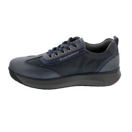 Joya Laura Sneaker, Dark Blue, Full Grain Leather/ Velour/ Synthetic, Kategorie Emotion, 856cas