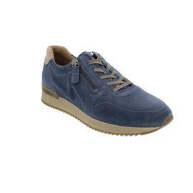 Gabor Sneaker, Dreamvel./AngelNap., winterblau/desert, Wechselfußbett, Best Fitting, 53.422.16