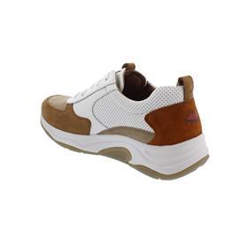 Rollingsoft Sneaker, Samtchevreau/ Cervo, savanne/weiß k(perf) ,Wechselfußbett 56.918.40