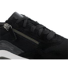 Rollingsoft Sneaker, Mesh/Samt/Lack k., schwarz, Wechselfußbett 56.938.37