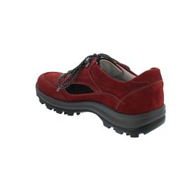 Waldläufer Holly Halbschuh, 7x Denver, rubin schwarz, Weite H 471000-704-612