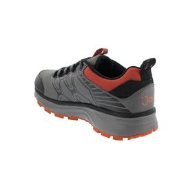 Joya Santiago STX (Sympatex) Sneaker, Grey/   Orange, Textile, Air-Sohle, Kat. Emotion 197out