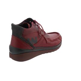 Wolky Zoom Bootie, Forest leather (Glattleder),  dark-red 0485024-505
