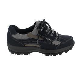 Waldläufer Holly Halbschuh, Denver Torrix, marine pietra silber, Weite H 471240-494-217