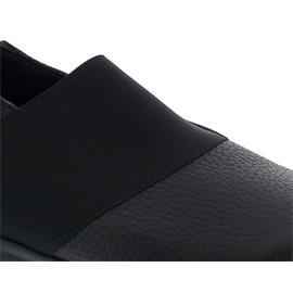 Arche Barska, Slipper, Hopi und naka (Glattleder),  Gummizug, Noir (schwarz)