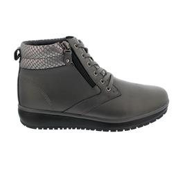 Joya Wilma II Dark Grey Bootie, Full-Grain Leather / Textile, Air-Sohle, Kategorie Emotion 820cas
