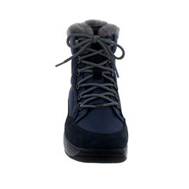 Joya Tiffany STX Dark Blue Stiefel, SympaTex,  Textile/Velour Leather / Fur, Senso-Sohle, 858boo