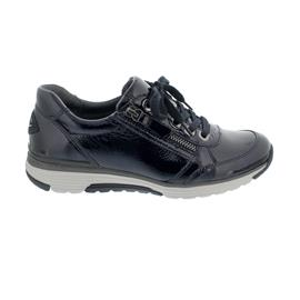 Rollingsoft Sneaker, Taipei Lack, ocean, Schnürung und  Reißverschluss, Wechselfußbett 56.973.26