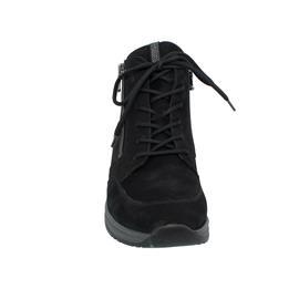 Waldläufer Sonja Bootie, Dynamic-Sohle, Denver (Nubukleder),  schwarz,  Weite H 999802-191-001