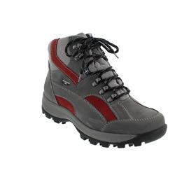 Waldläufer Holly Bootie, Waldläufer-Tex, Denver/Torrix, basalt/cherry/silber, Weite H 471900-911-247