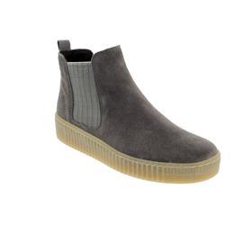 Gabor Chelsea Boot, Dreamvelour (Micro), wallaby / beige (natur),Wechselfußbett, Best-Fitting 53.731.12