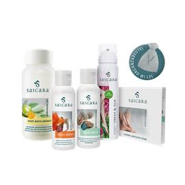 Saicara Fresh & Energy SET mit 4 verschiedenen Produkten