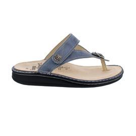 Finn Comfort Alexandria-S, Pantolette, Alfa (Leder), jeans, 81524-705124