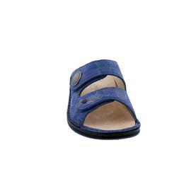 Finn Comfort Sansibar Pantolette, Shibu (Leder), pacific, 2550-657050
