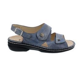 Finn Comfort Milos, Sandale, Jeans, Alfa (Glattleder), 2560-705124