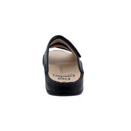 Finn Comfort Korfu - Pantolette, Classic, Hillcrest (Leder), night (dunkelblau), 1508-650413