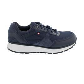 Joya Tony II Sneaker, Dark Blue, Full Grain Leather, Velour, Textile, Air-Sohle 210spo