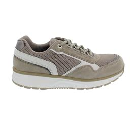 Joya Tina II Sneaker, Beige/White, Velour Leather/ Full Grain/ Textile, Emotion-AIR SOHLE, 886spo