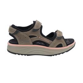 Joya Komodo Light Brown Sandale, Velour Leather/ Textile, Air-Sohle, Kategorie Emotion 892san