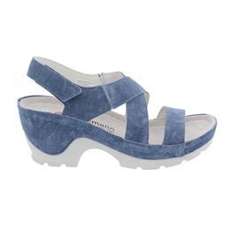 Berkemann Nara, Sandalette, washed jeans, Leder, Weite G 01651-309