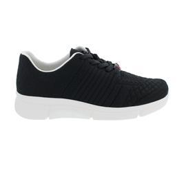 Berkemann Pinar, Sneaker, ComfortKnit (Strick), schwarz / Struk, Weite H-I 05115-081
