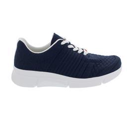 Berkemann Pinar, Sneaker, ComfortKnit (Strick), altblau/ Struk, Weite H -I 05115-395