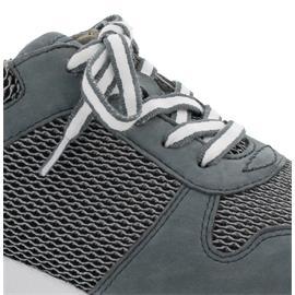 Rollingsoft Sneaker, Mesh Oval / Nubuk, grey / river, Wechselfußbett 06.946.49