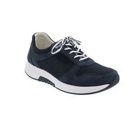 Rollingsoft Sneaker, Mesh / Nubuk, nightblue, Wechselfußbett 06.946.86