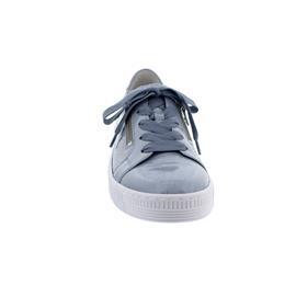 Gabor Sneaker, Best Fitting, Touch Lack, aquamarin (ice) Schnür. u. Reißver., Wechselfußb. 63.334.96
