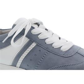 Gabor Sneaker, Samtchev./LasVegas, aquamarin/weiss, Wechselfußbett 63.300.16