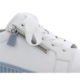 Gabor Sneaker, Best Fitting, Cervo/ Lack, weiss (aquam.) Schnür. u. Reißver., Wechselfußb. 63.334.26