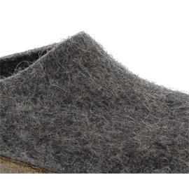 Stegmann Wollfilz-Pantoffel, Wolle vom Tiroler Steinschaf, rutschfeste Gummi-Laufsohle, natur 108-8850