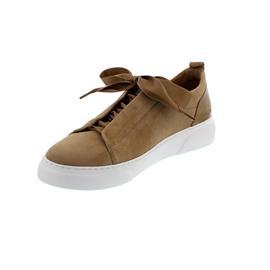 Gabor Sneaker, Samtchev/Lack., caramel, Best Fitting, Wechselfußbett 63.315.14