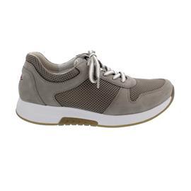 Rollingsoft Sneaker, Mesh/Nubuk, visone, Wechselfußbett 66.946.33