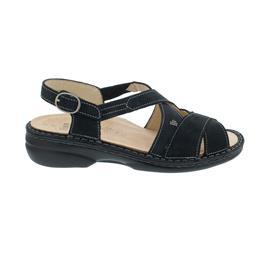 Finn Comfort Binz-S Sandale, Nubuk, anthrazit, 82591-007452
