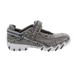 Allrounder Niro, Sneaker, Klettverschluss, Weaving 60/ Open Mesh 12, Cool Grey N819
