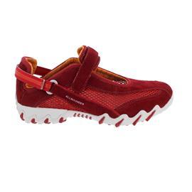 Allrounder Niro, Sneaker, Klettverschluss, C. Suede 75/ Open Mesh 75, Barbados cherry N819