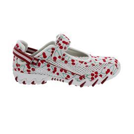 Allrounder Niro, Sneaker, Klettverschluss, Cherry 01/ Open Mesh 30, Blanc DE Blanc N819