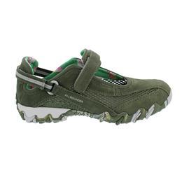 Allrounder Niro, Sneaker, Klettverschluss, C. Suede 92/ Open Mesh 92, Olivine/ Olivine  N819