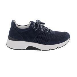Rollingsoft Sneaker low, Mesh/ Dreamvelour/ Luxor, Marine, Wechselfußb. 66.897.36