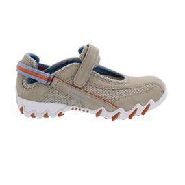 Allrounder Niro, Sneaker, Klettverschluss, C. Suede 12/ Super Mesh 68, Lamb/ Lamb/ Silver
