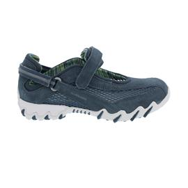 Allrounder Niro, Sneaker, Klettverschluss, C. Suede 95/ Open Mesh 04, Jeans/ Jeans N819