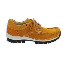 Wolky Fly, Antique nubuck, Ochre-black, Halbschuh 0470111-923